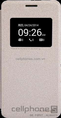 Bao da cho ZenFone 5 - Nillkin Sparkle Leather - CellphoneS