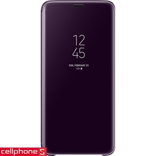 Galaxy S9+ Samsung Clear View Standing Cover EF-ZG965 | CellphoneS.com.vn