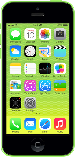 Apple iPhone 5C 16 GB Công ty