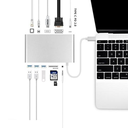 HyperDrive Ultimate USB-C Hub | CellphoneS.com.vn