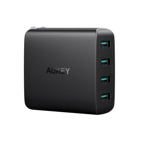 Sạc AUKEY PA-U48 Amp 4-Port Wall Charger giá rẻ   CellphoneS.com.vn