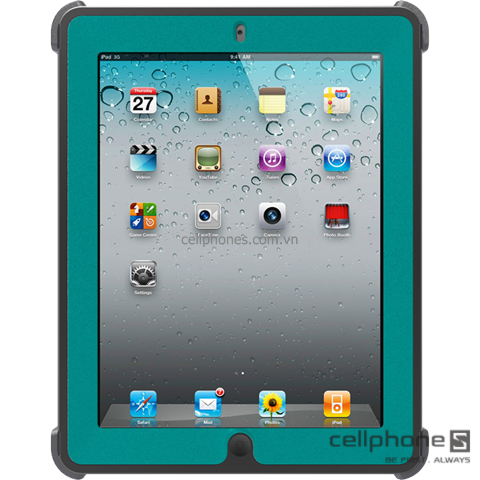 Bảo vệ cho iPad 2 / new iPad / iPad 4 - OtterBox Defender Series Case