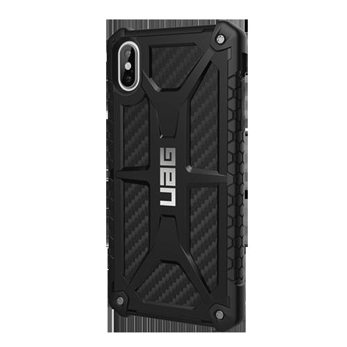 Ốp lưng chống sốc cho iPhone XS Max - UAG Monarch Carbon Fiber