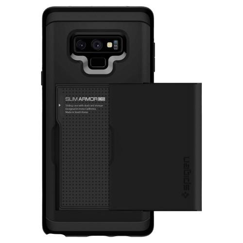 Ốp lưng cho Galaxy Note 9 - Spigen Case Slim Armor CS