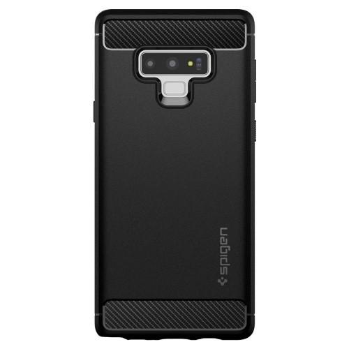 Ốp lưng cho Galaxy Note 9 - Spigen Rugged Armor Matte Black