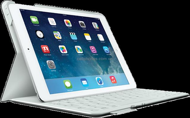 Logitech FabricSkin Keyboard Folio - CellphoneS giá rẻ nhất