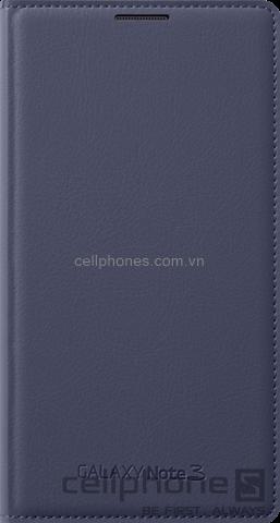 Bao da cho Galaxy Note 3 - Samsung Wallet Flip Cover