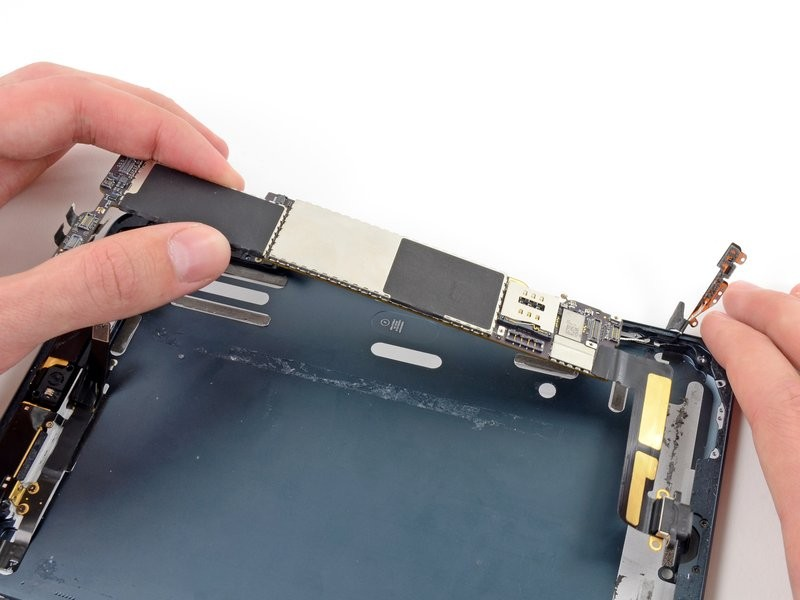 Sửa lỗi nút home bị liệt - Thay ic home iPad Mini