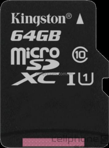 Thẻ nhớ Kingston microSDXC Class 10 UHS-I 64 GB - CellphoneS