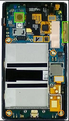 Sửa lỗi wifi - Thay ic wifi LG G