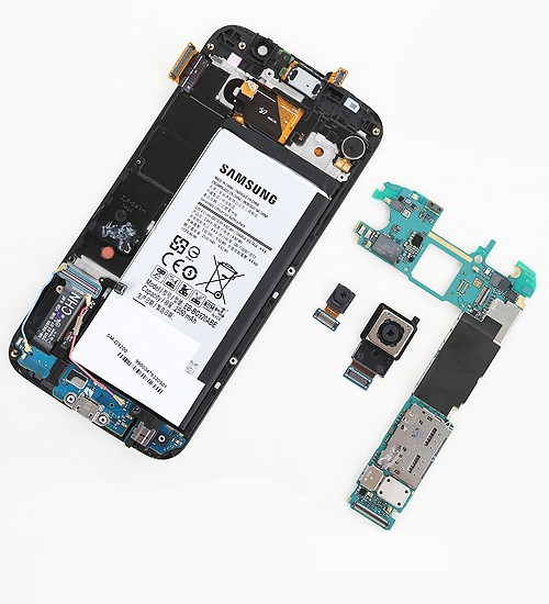 Sửa lỗi camera - Thay ic camera Galaxy S6