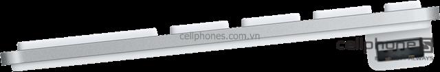 Bàn phím Apple Keyboard with Numeric Keypad - CellphoneS