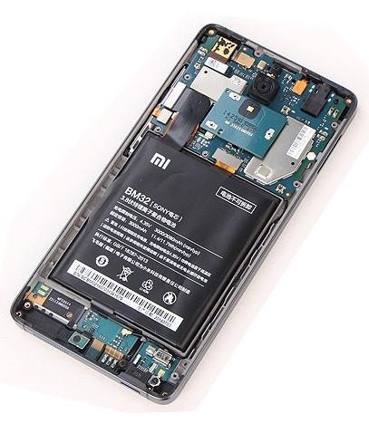 Sửa lỗi sạc không vào - Thay ic sạc Xiaomi Mi 4