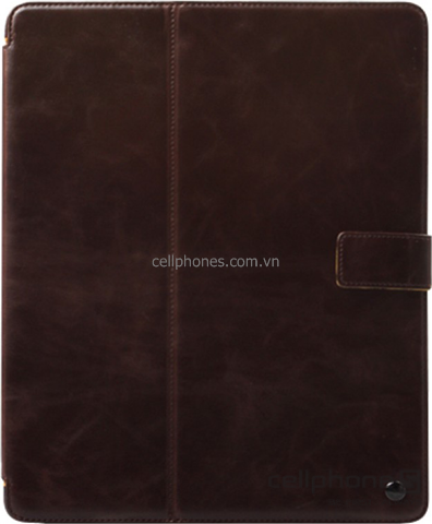 Bao da cho iPad 2 / new iPad / iPad 4 - Zenus Block Folio Collection