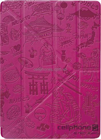 Bao da cho iPad 2 / new iPad / iPad 4 - Ozaki iCoat 360° Travel Tokyo