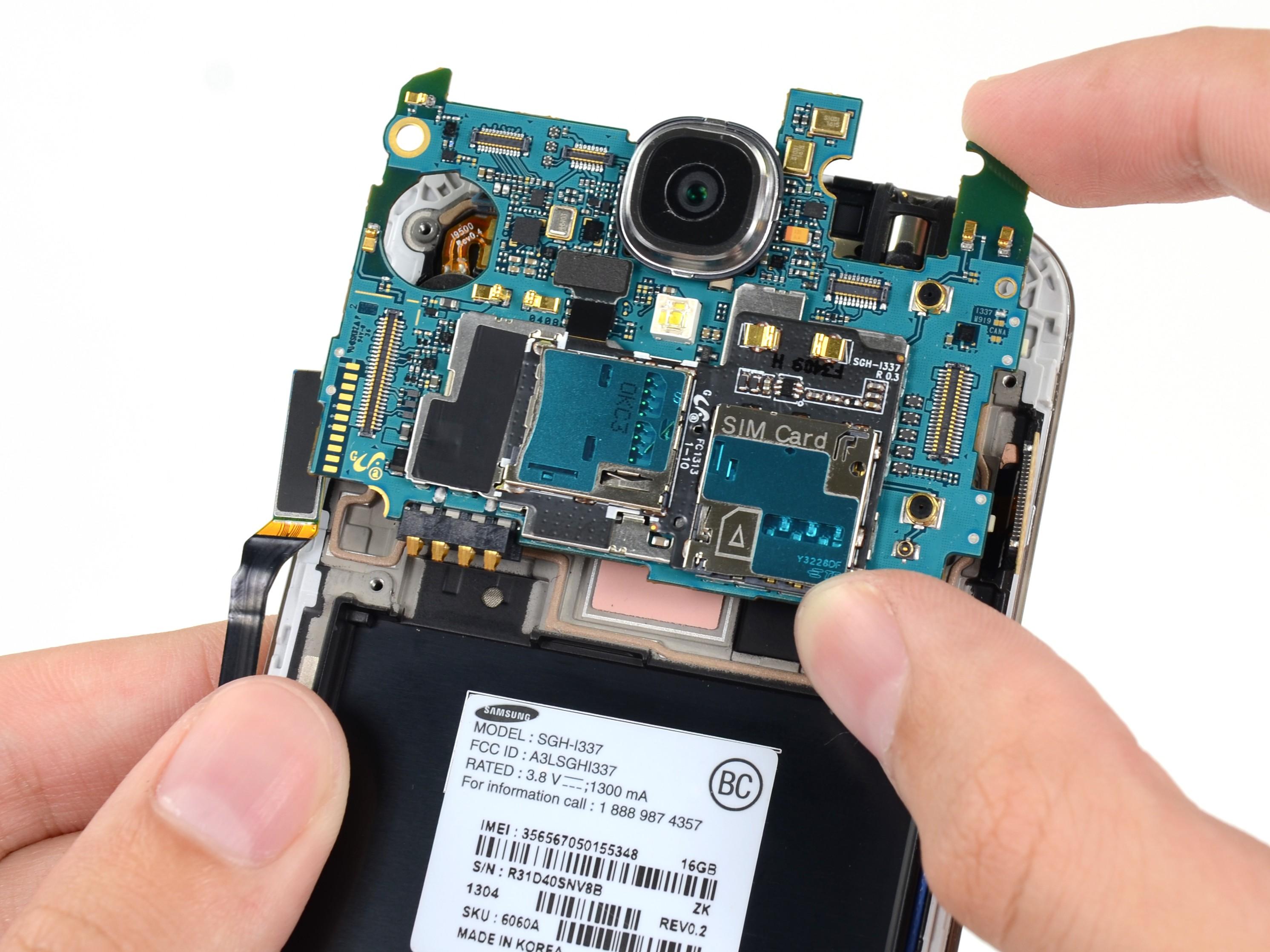 Sửa lỗi camera - Thay ic camera Galaxy S4