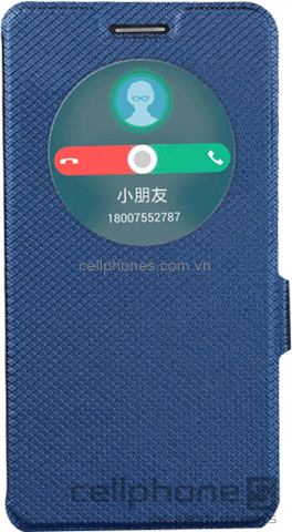 Bao da cho ZenFone 6 - Muhua Zhen Series Window Style - CellphoneS