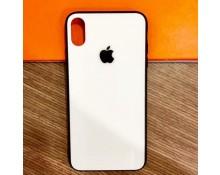 Apple iPhone XR Ốp lưng kính S-Case in hình Trắng