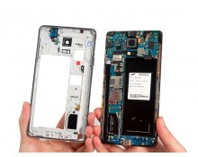 Sửa lỗi camera - Thay ic camera Galaxy Note 4