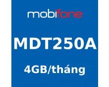 SIM 4G MobiFone 4GB/tháng (MDT250A)