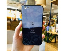 Apple iPhone 7/8 Ốp lưng kính S-Case in hình Chữ Day Like Day Happy