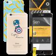 Combo Ốp lưng S-Case, Dán cường lực - CellphoneS-0