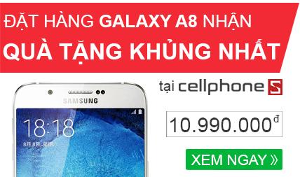 Đặt mua Galaxy A8