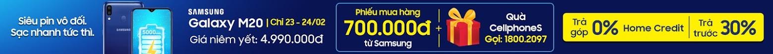 Samsung Galaxy M20 giá cực sốc - Cellphone