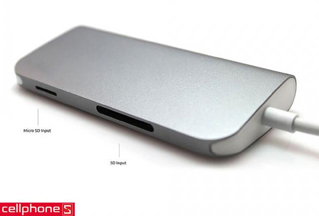 Đầu chuyển Le Touch USB-C Combo Hub 8 in 1