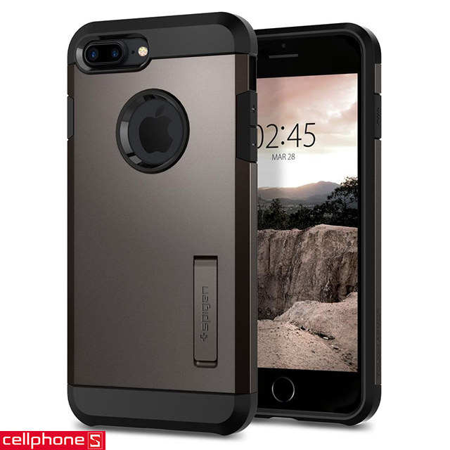 Ốp lưng cho iPhone 8 Plus - Spigen Tough Armor 2 Case