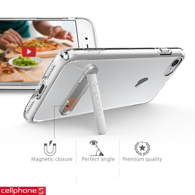 Ốp lưng cho iPhone 8 - Spigen Ultra Hybrid S Case