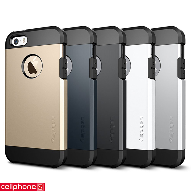 Ốp lưng cho iPhone 5 / 5S - SPIGEN SGP Tough Armor