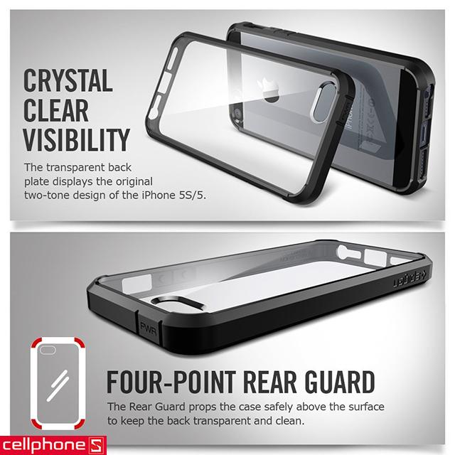 Ốp lưng cho iPhone 5 / 5S - SPIGEN SGP Ultra Hybrid