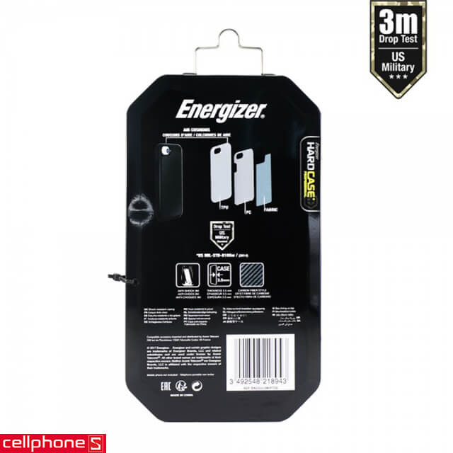 Ốp lưng cho iPhone 6 / 6S - Energizer Hard Case Professional ENCOUL3MIP6CB