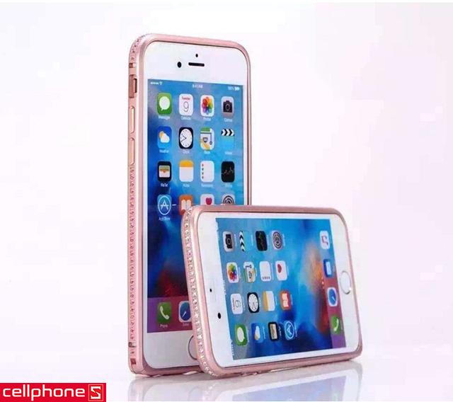 Ốp viền cho iPhone 6 / 6S Plus - COTEetCI Aluminum Rims