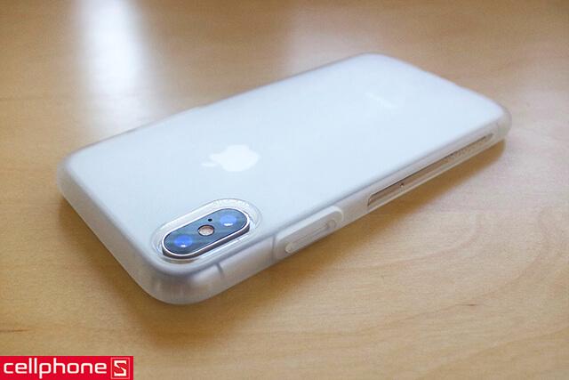 Ốp lưng cho iPhone X - Anker KARAPAX Shield Case