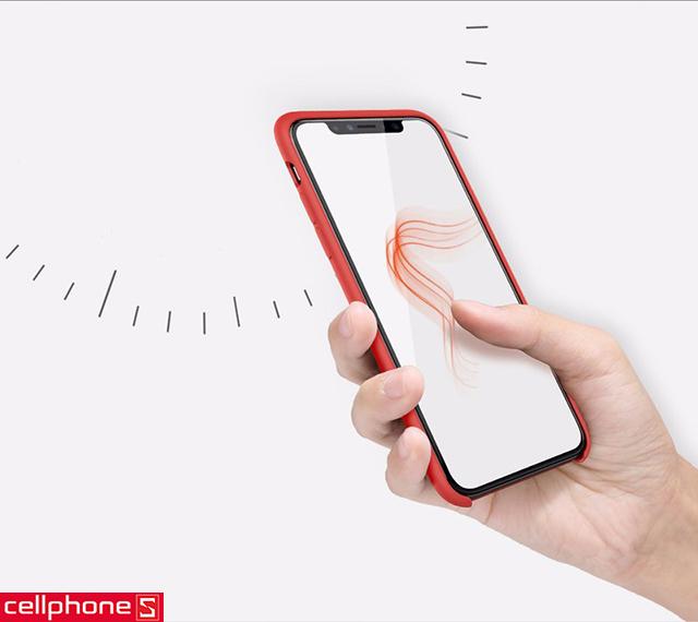 Ốp lưng cho iPhone X - Nillkin Flex Case