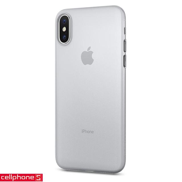 Ốp lưng cho iPhone X - Spigen AirSkin Case