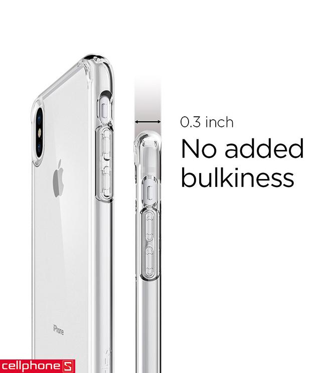 Ốp lưng cho iPhone X - Spigen Ultra Hybrid S Case