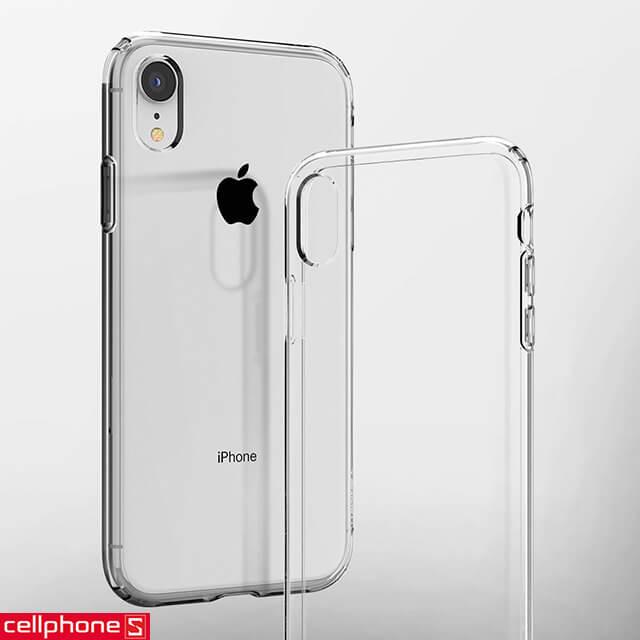 Ốp lưng iPhone XR - Spigen Case Liquid Crystal Clear