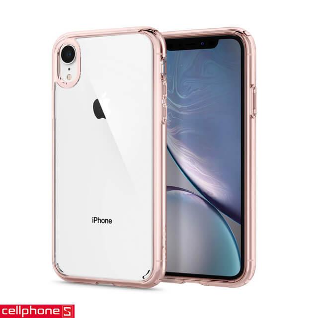 Ốp lưng cho iPhone XR - Spigen Case Ultra Hybrid
