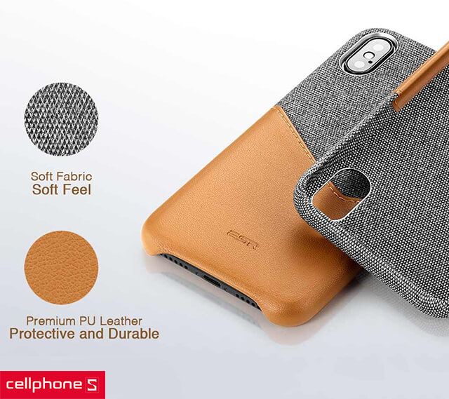 Ốp lưng cho iPhone X/XS - ESR Case Card Slot