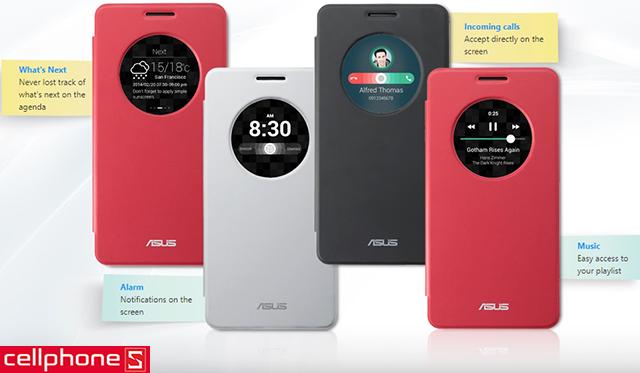 Bao da cho ZenFone 6 - ASUS View Flip Cover