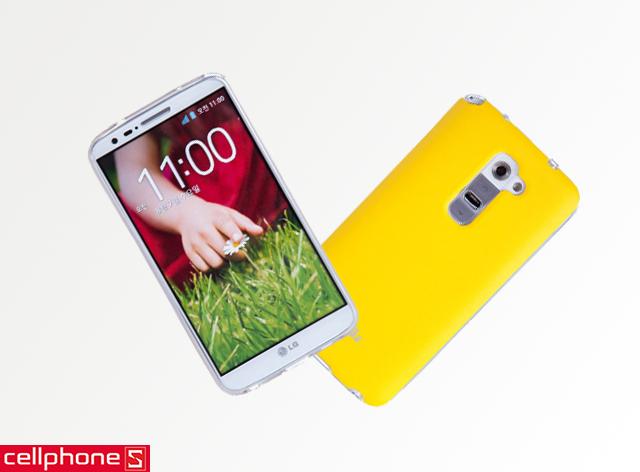 Ốp lưng cho LG G2 - Voia Jelly Skin