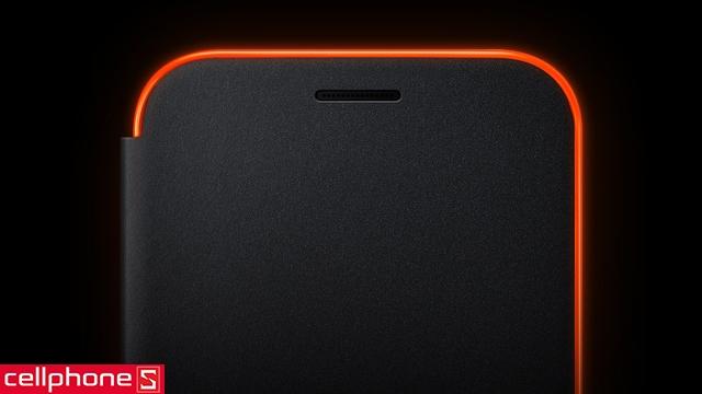 Bao da cho Galaxy A5 (2017) - Samsung Neon Flip Cover
