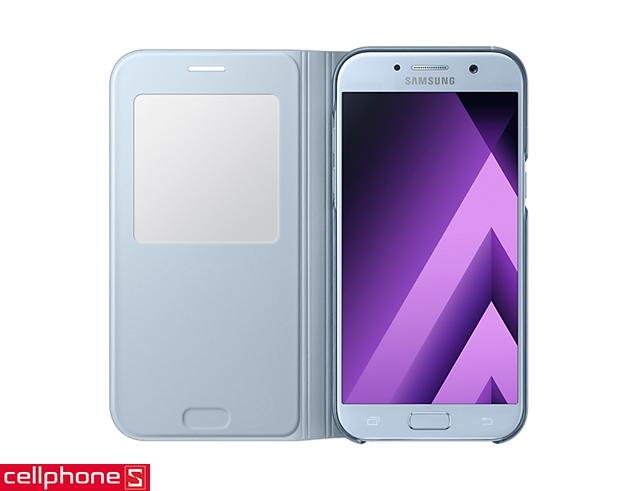 Bao da cho Galaxy A5 (2017) - Samsung S View Standing Cover