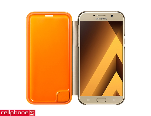 Bao da cho Galaxy A7 (2017) - Samsung Neon Flip Cover