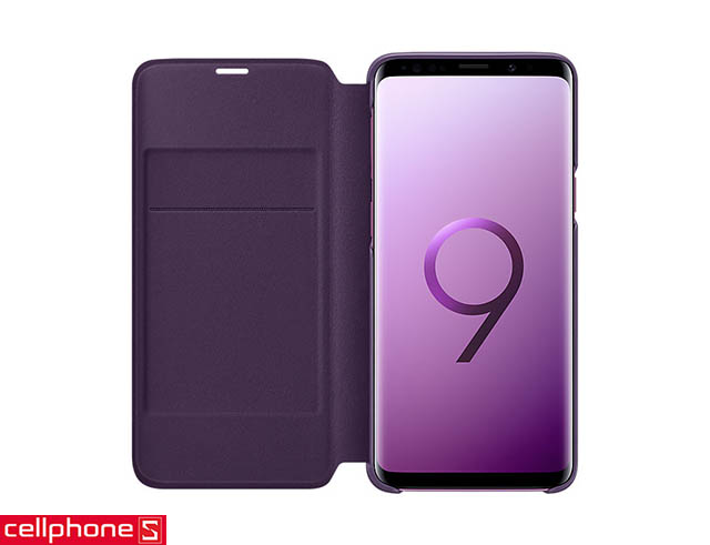 Bao da cho Galaxy S9 - Samsung LED View Cover EF-NG960