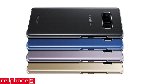 Ốp lưng cho Galaxy Note 8 - Samsung Clear Cover EF-QN950