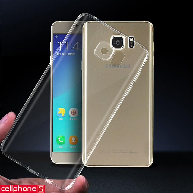 Ốp lưng cho Galaxy S6 edge - Samsung Clear Cover